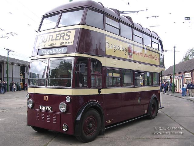 AEC 661T (1938) Park Royal