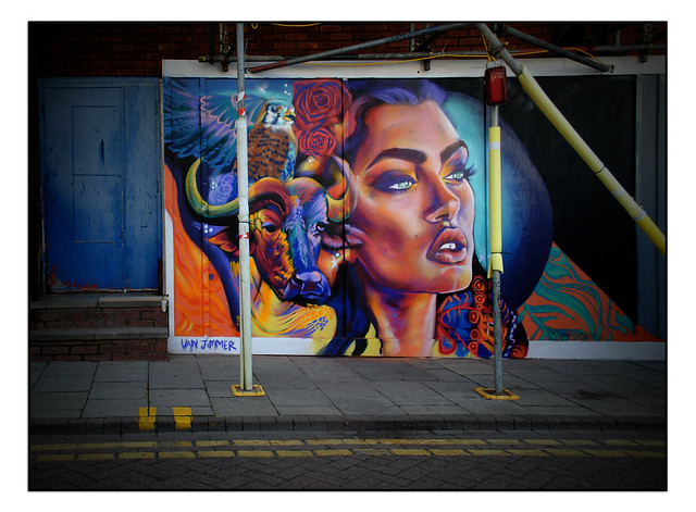 LONDON STREET ART by VAN JIMMER
