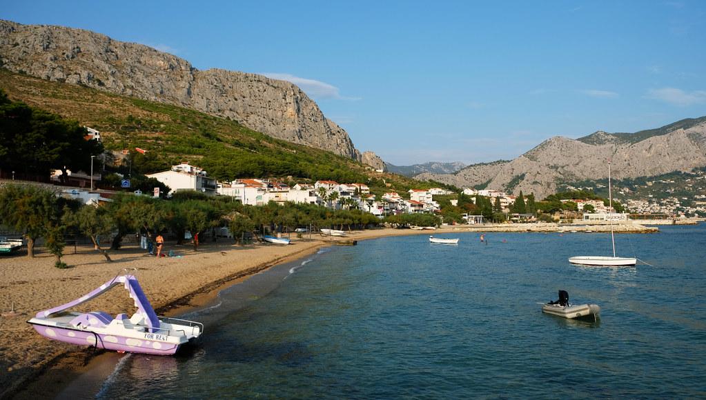 Duće Beach, Duće, Omiš Riviera, Croatia