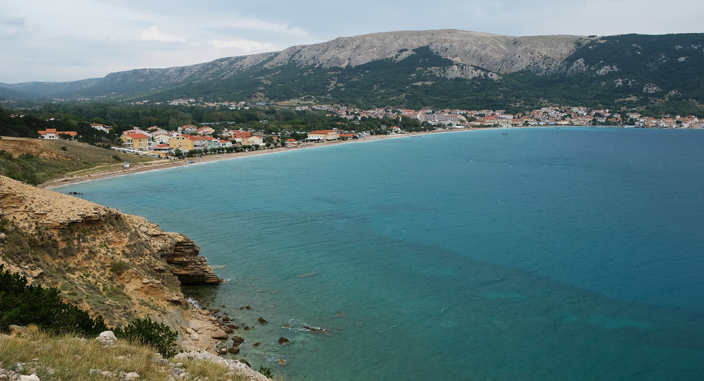 Baška Beach, Krk Island, Croatia