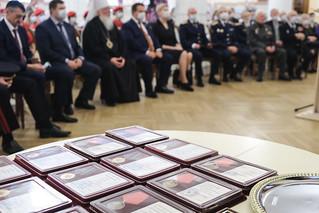 30.09.2020   Вручение медалей 75 лет Нюрнбергскому процессу