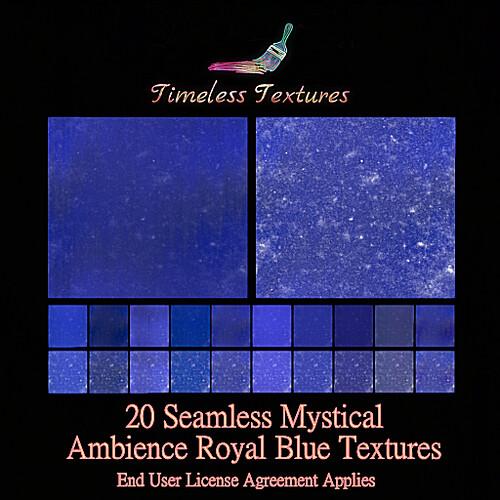 TT 20 Seamless Mystical Ambience Royal Blue Timeless Textures