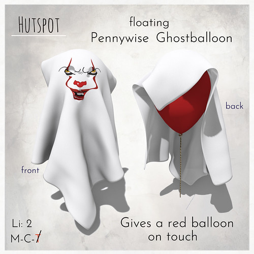 Pennywise Ghostballoon