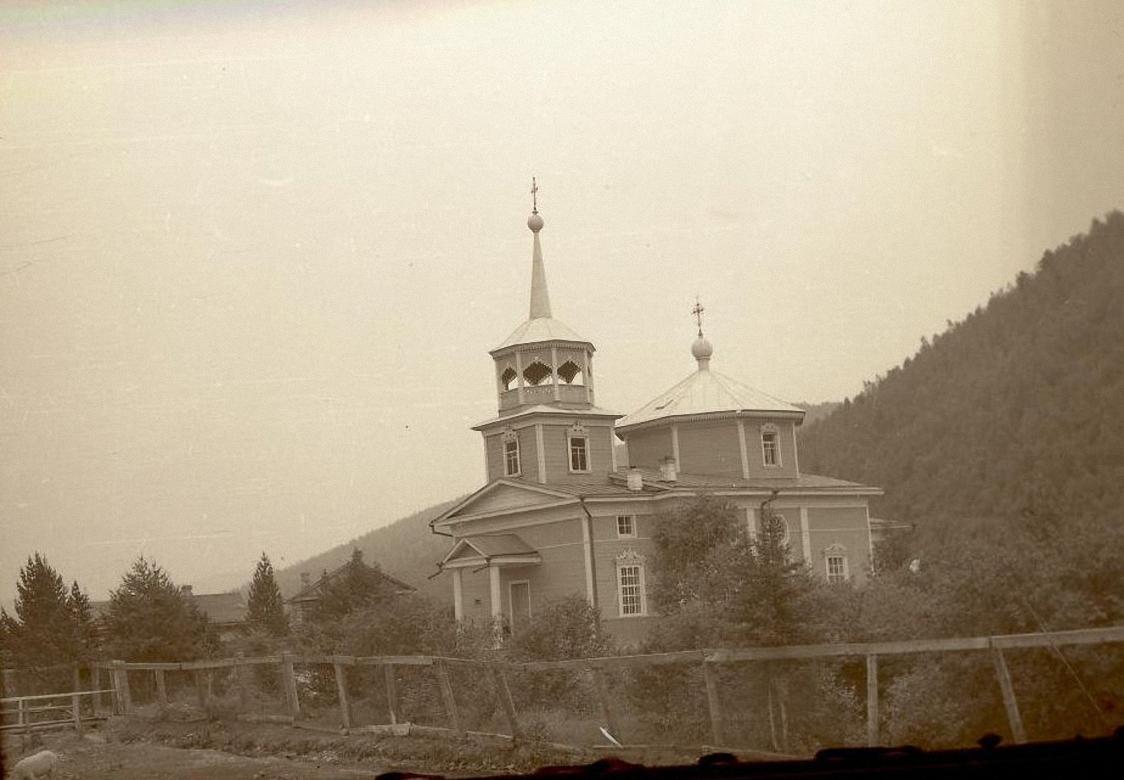 1959. Никольская церковь в поселке Лиственничном