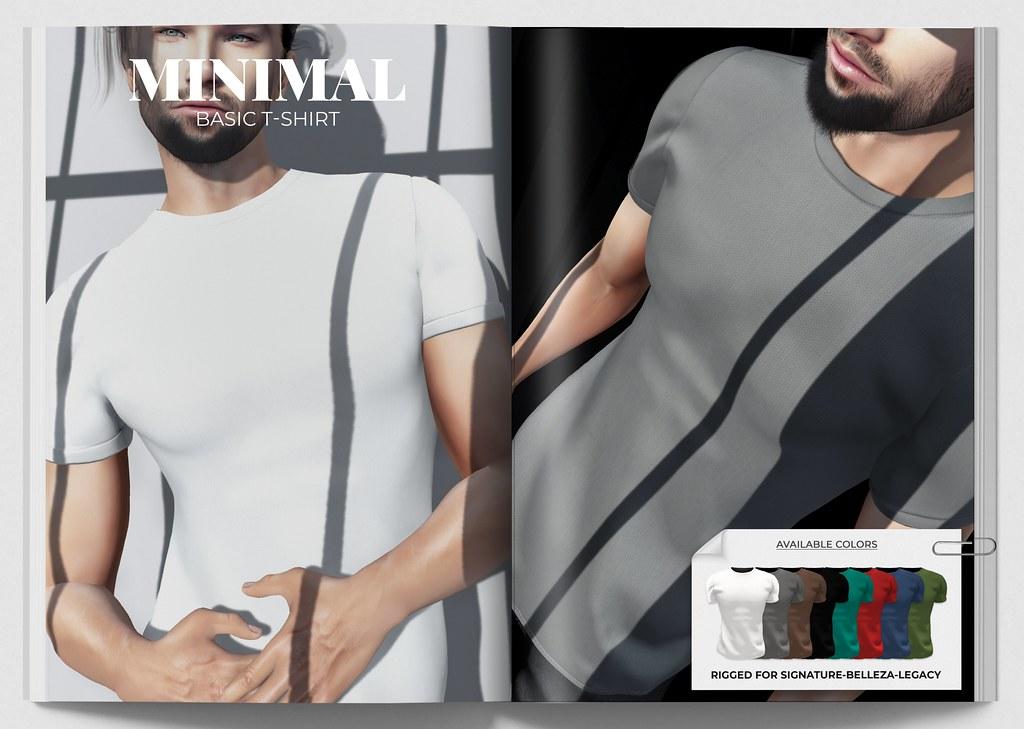 MINIMAL – Basic T-shirt