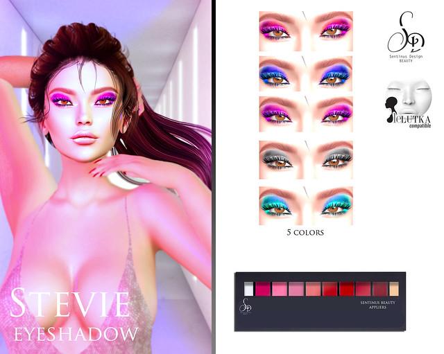 SENTINUS BEAUTY - Stevie Eyeshadows For Lelutka AD