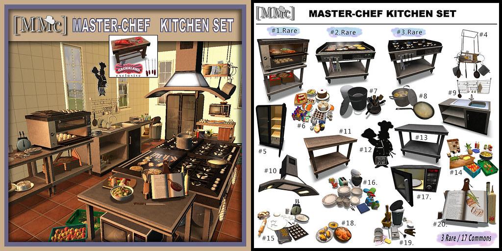 [MMc]Master-Chef Kitchen Set