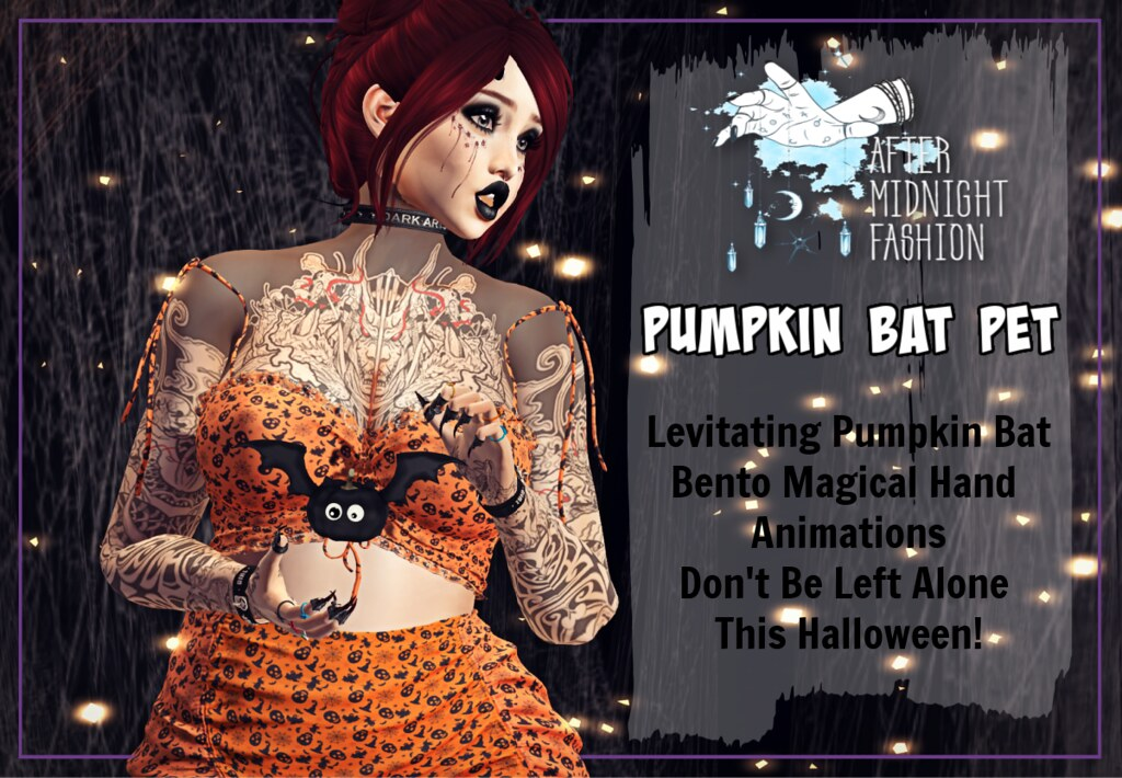 ::AMF:: Pumpkin Bat Pet AD