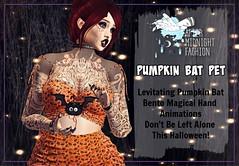 ::AMF:: Pumpkin Bat Pet AD