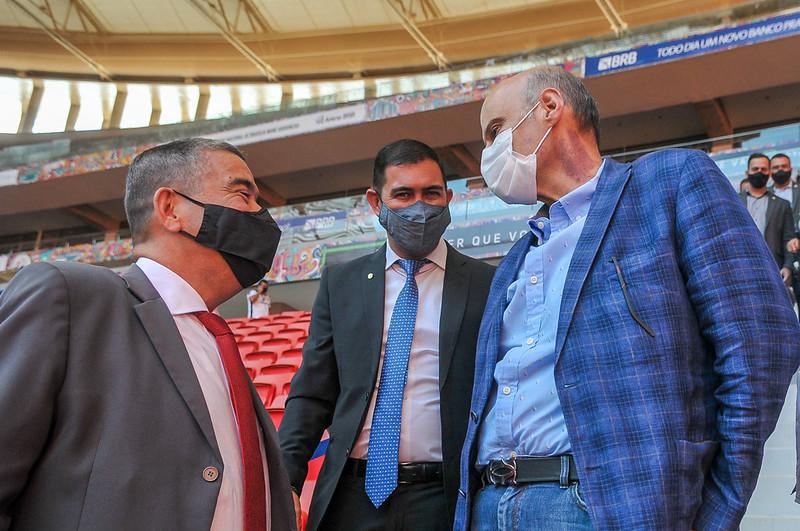 Solenidade de Posse da Presidência da Federação de Futebol