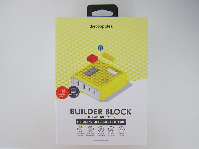 thecoopidea Builder Block - Box Front