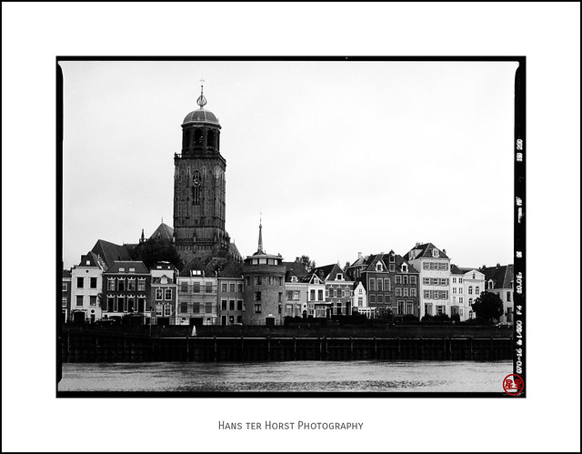 View of Deventer and River IJssel