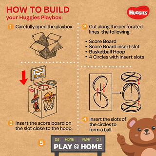 How to Build Huggies Playbox (Basketball) | by znomd5