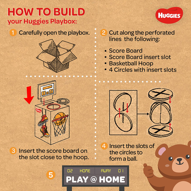 How to Build Huggies Playbox (Basketball)