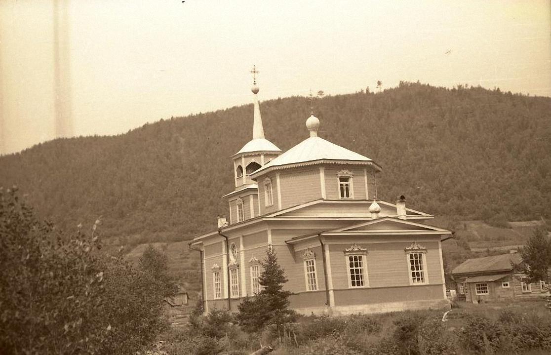 1959. Никольская церковь в поселке Лиственничном1