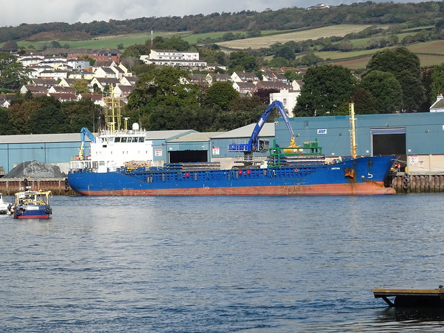 M.V.ANTON (IMO: 9576703) AIS Vessel Type:General Cargo-Call sign:V2GR6 (MMSI: 304059000) Hermann Lohmann Bereederungen Germany