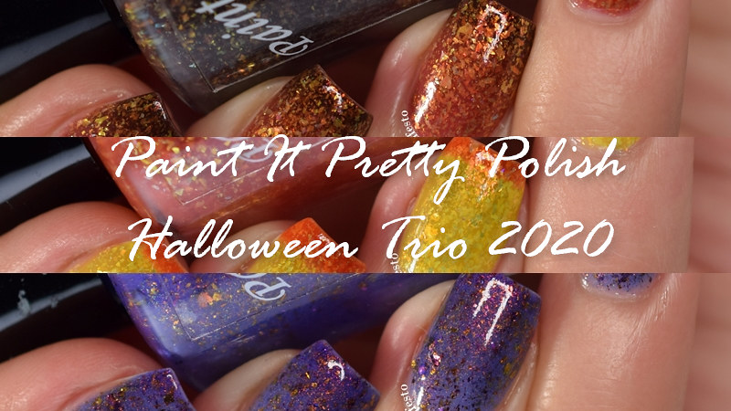 Paint It Pretty Polish Halloween Trio