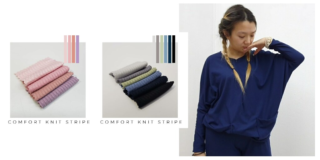 COMFORT KNIT STRIPE