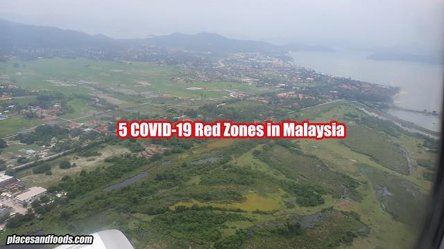 covid 19 5 red zones