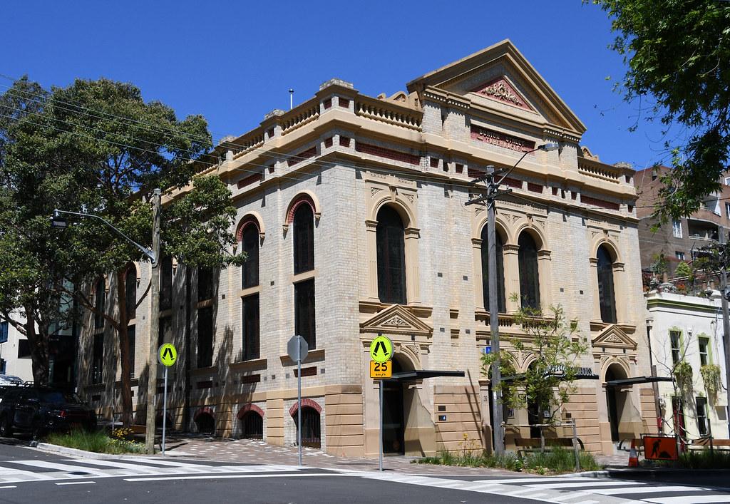Burton Street Tabernacle, Darlinghurst, Sydney, NSW