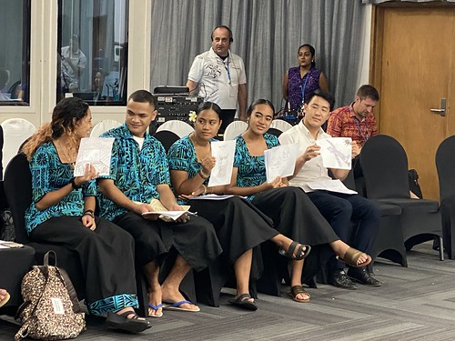 Workshop on Climate Change and Its Impact on Vulnerable Groups: Voices of the Child - Advancing Climate Justice in the Pacific. | by AJNE2013