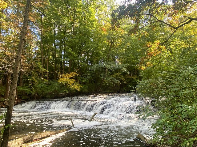 Postcard Falls (Explore) Corbett's Glen Brighton, NY