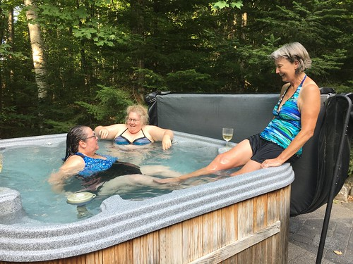 Haliburton - the hot tub