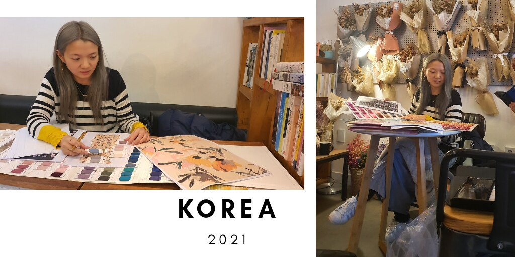 SALLY IN KOREA MAKING 2021 DESIGNS & UNIQUE COLOURS