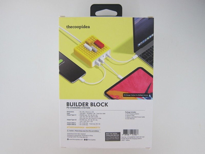 thecoopidea Builder Block - Box Back