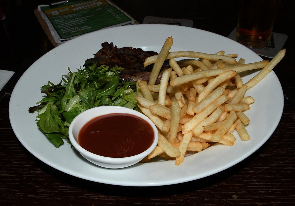 Petite Steak, AB Hotel, Glebe, Sydney, NSW