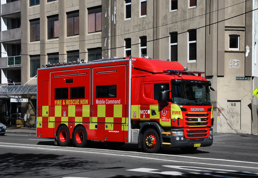 Fire and Rescue Mobile Command, Chippendale, Sydney, NSW