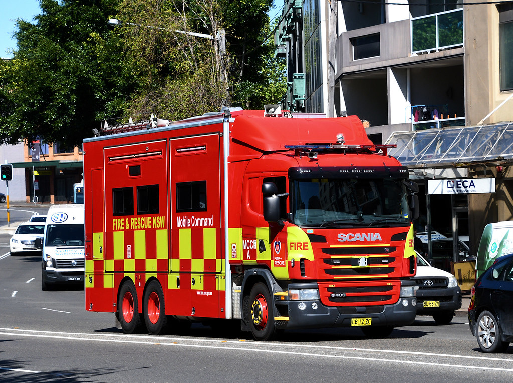 Fire and Rescue Mobile Command, Chippendale, Sydney, NSW 1