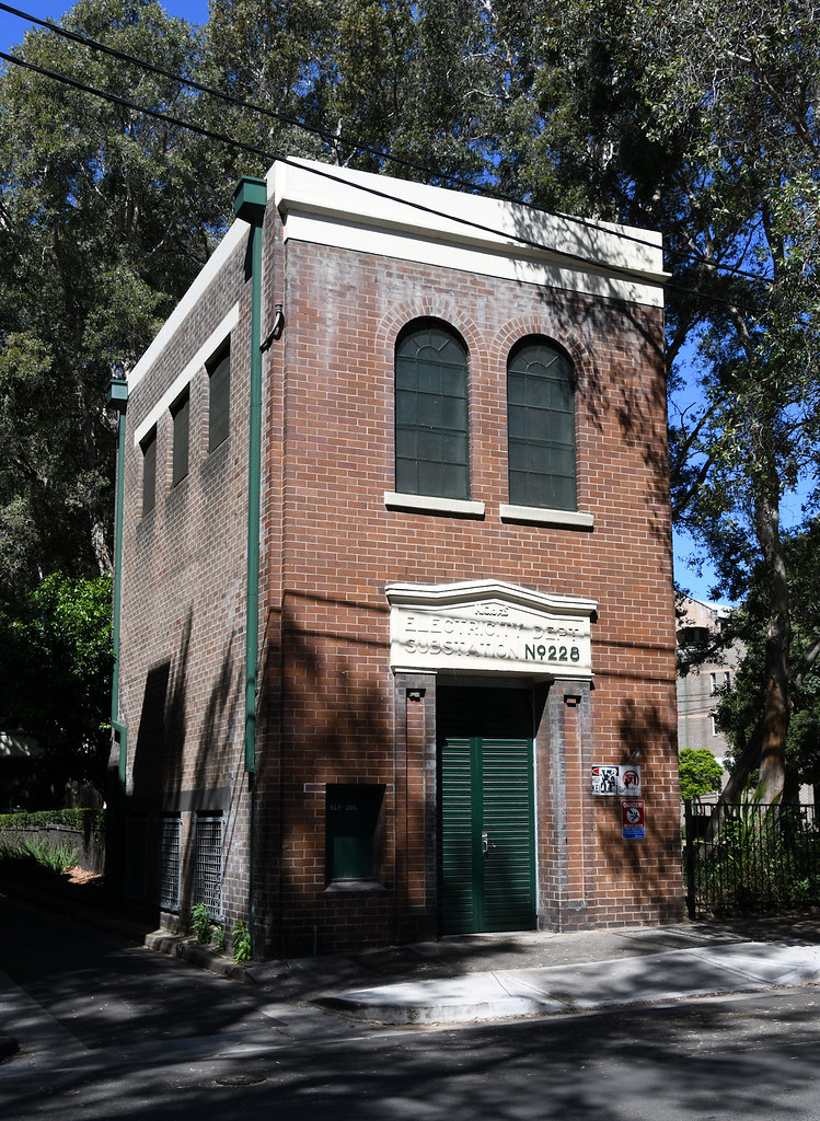 Electricity Substation No 228, Chippendale, Sydney, NSW