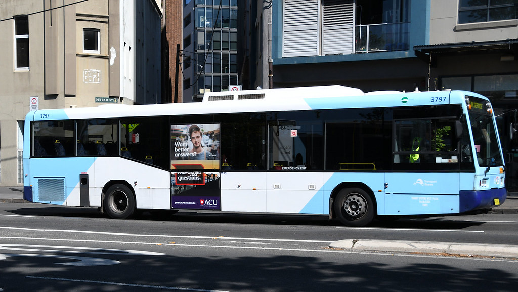 Bus 3797, Chippendale, Sydney, NSW