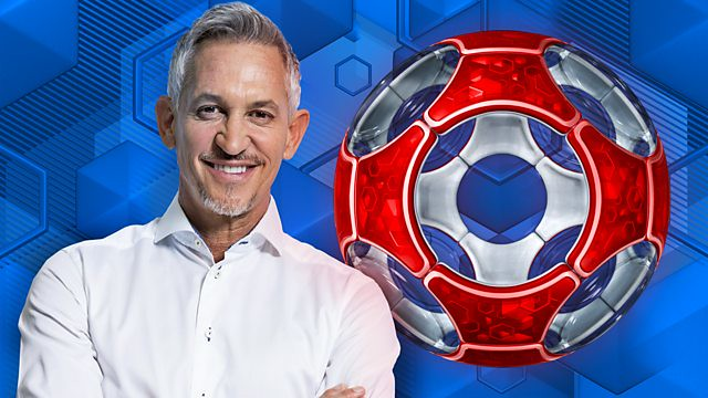 Gary Linker Match of the Day presenter