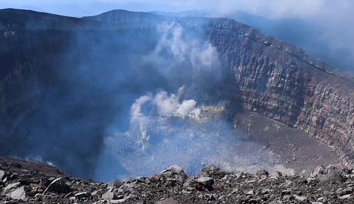 japan gunma nagano asama mountains volcano hiking landscapes view travel irl nature steamvents