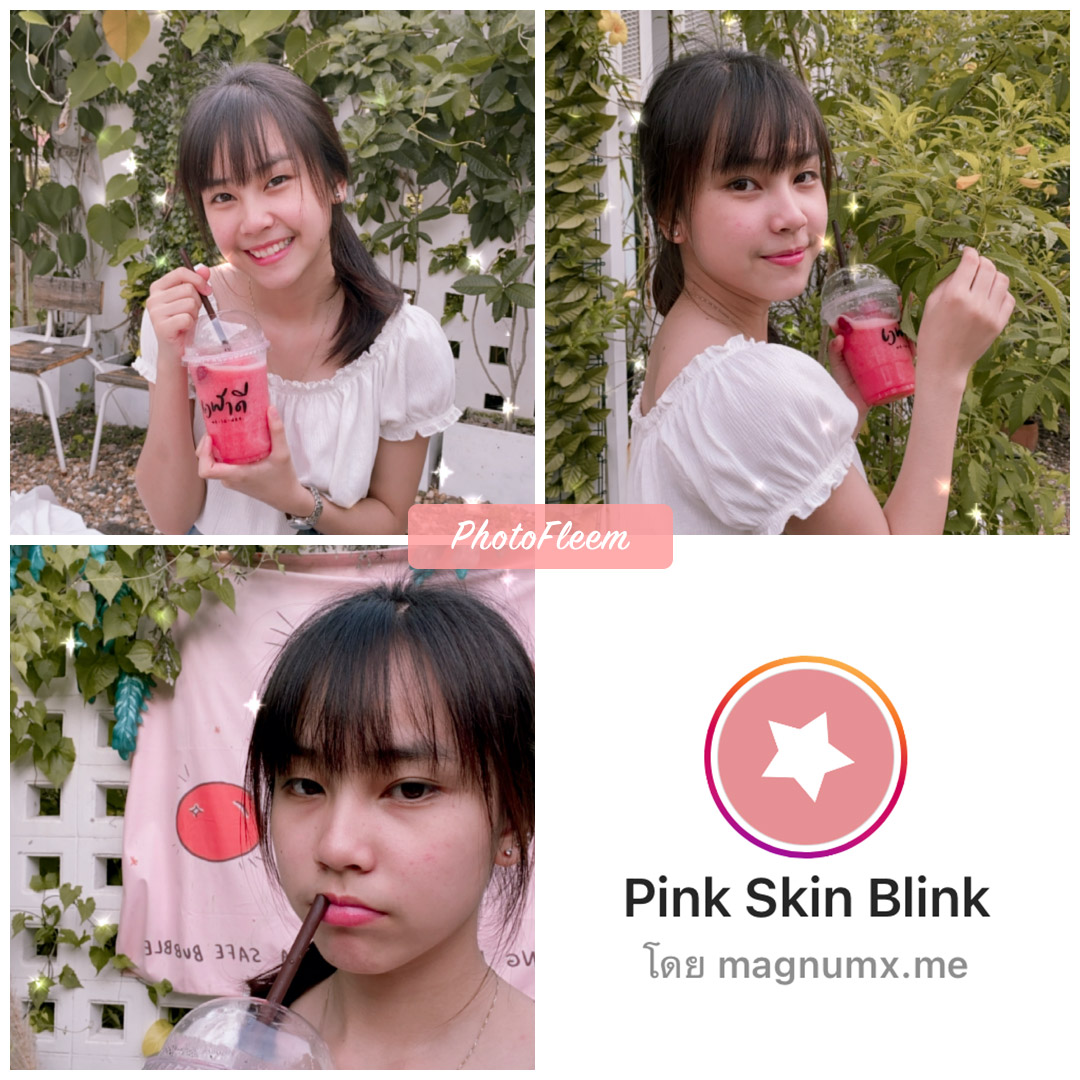 review IG filter Pink Skin Blink