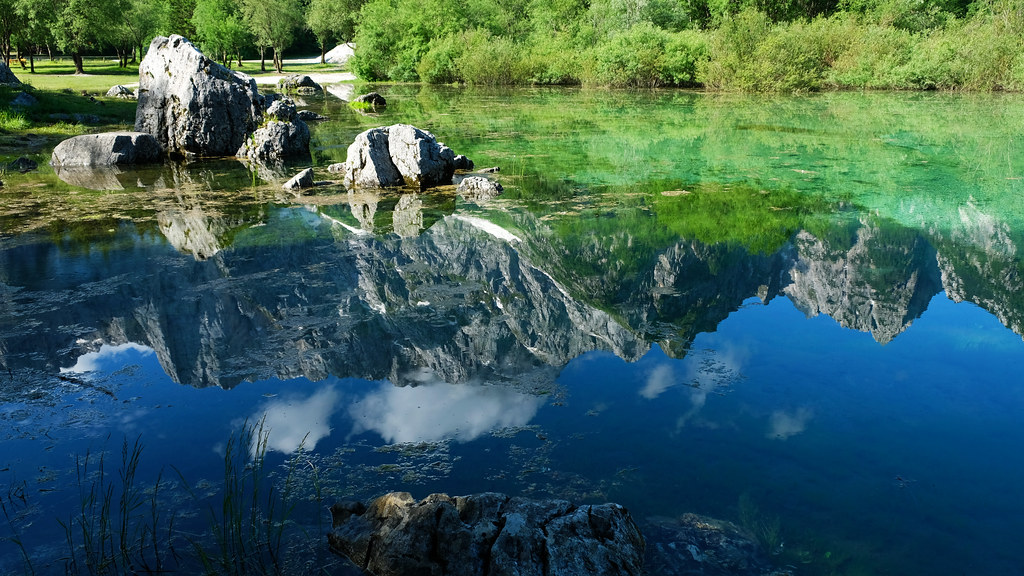 Upper Fusine Lake, Italy