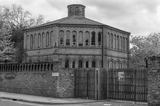 The Octagon, St Mark's College, Fulham Rd, West Brompton, Kensington & Chelsea, 1988 88-4n-21-positive_2400