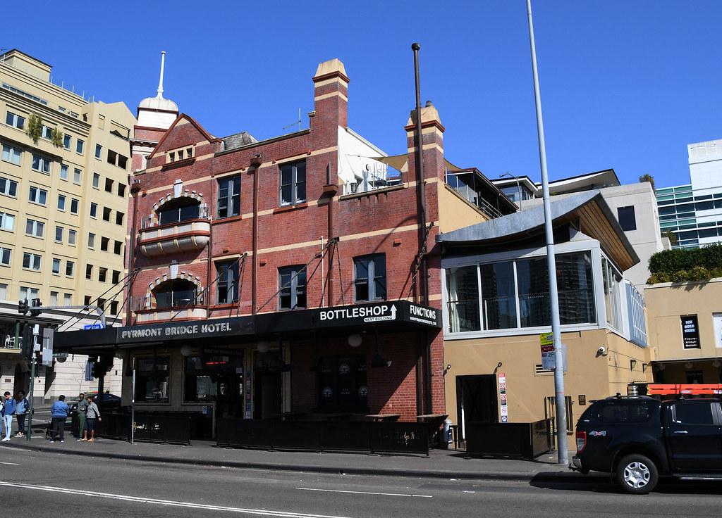 Pyrmont Bridge Hotel, Pyrmont, Sydney, NSW.