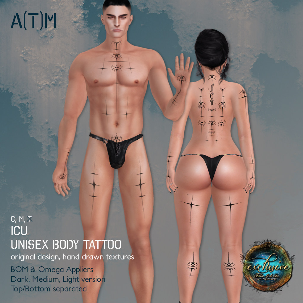 A(T)M - ICU Body Tattoo