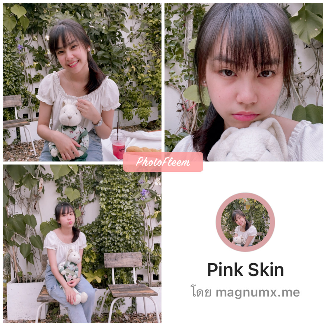 review filter ig Pink Skin