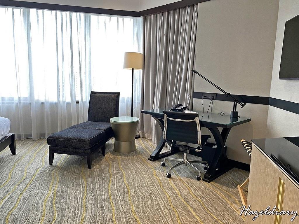 Singapore Marriott Tang Plaza-Premier Deluxe Room-1
