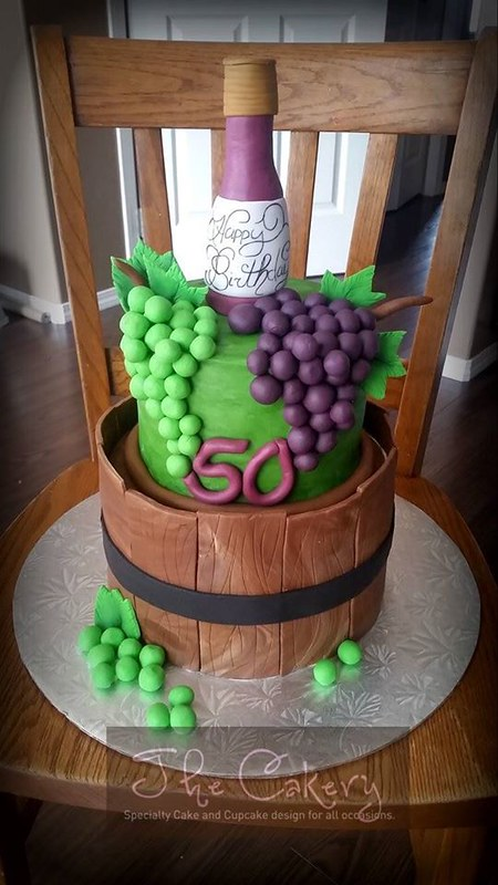 Wine-Lover Cake by The Cakery