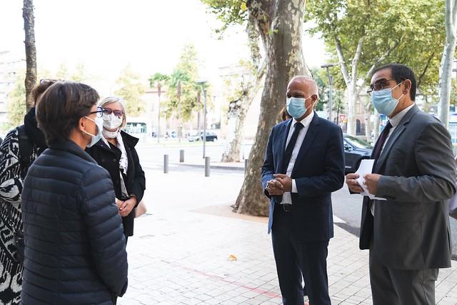Visite du recteur dans le Tarn-et-Garonne, 29 sept. 2020