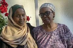 DSC_7095 Fouzia and Khadija Sisters from Somalia Portrait Photo Shoot Kentish Town London