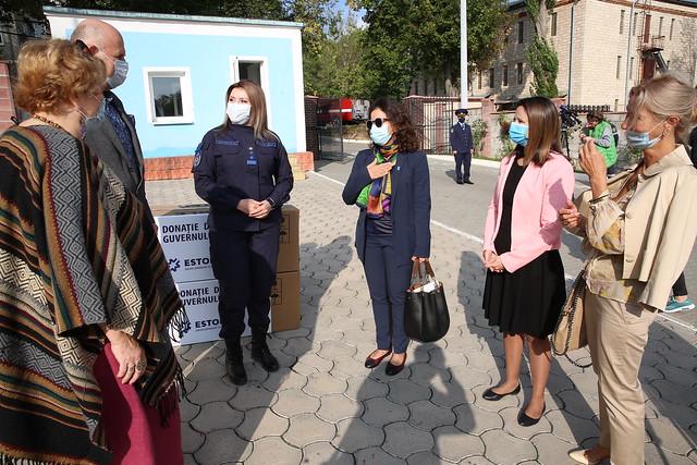 Estonia and UNDP support Moldova to create COVID-19 mobile quarantine and triage centres
