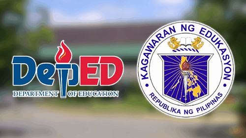 DepEd logo and seal