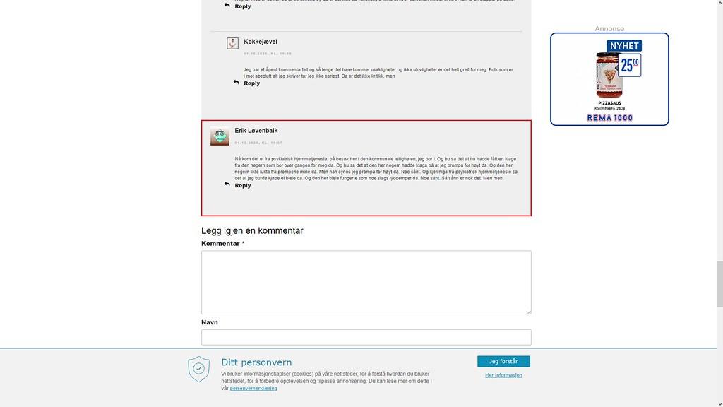nettmobbing 2. oktober