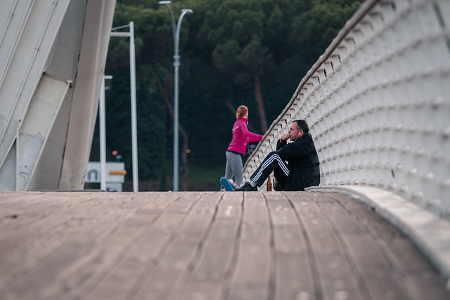 Thinking on the bridge